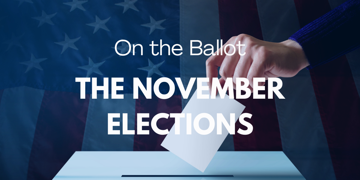 On the Ballot - The November Elections