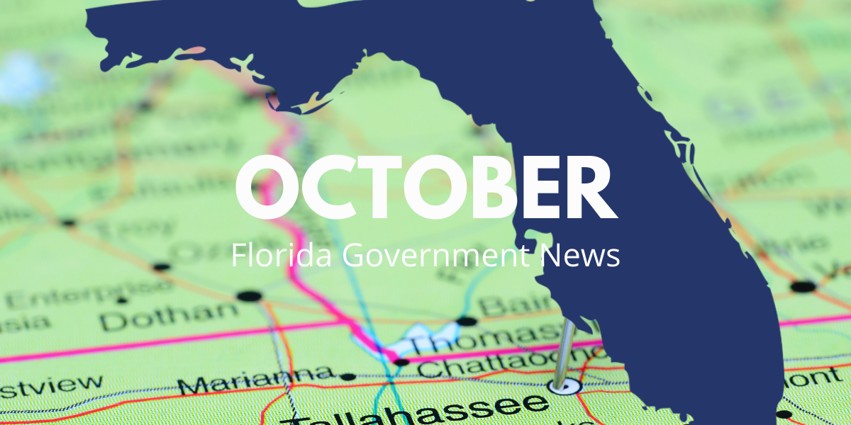 October Florida Government News